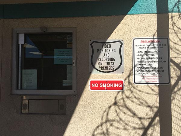 Las Vegas Detention Center Bail Window
